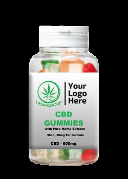 CBD Gummies 20mg 30 ct.