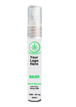 CBD Relief Oral Spray 52mg