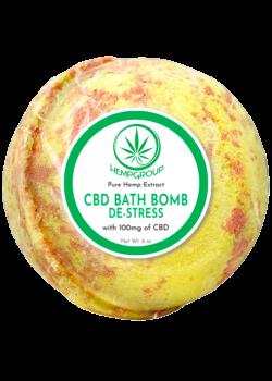 CBD De-Stress Bath Bomb